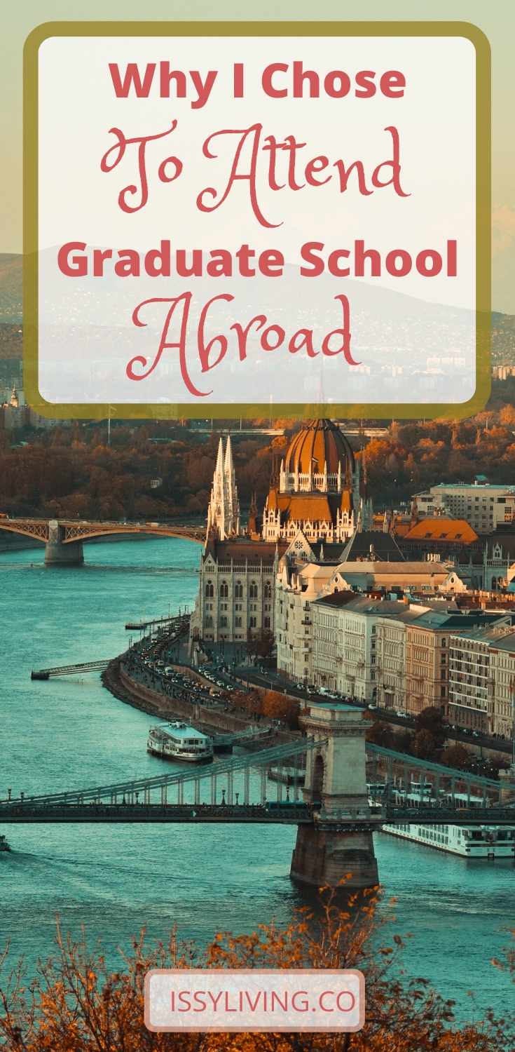 study abroad in budapest, hungary, digital nomad, grad school abroad